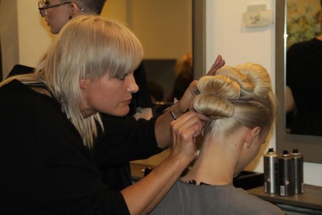 Karoliina stars in Hair & Barber Council event