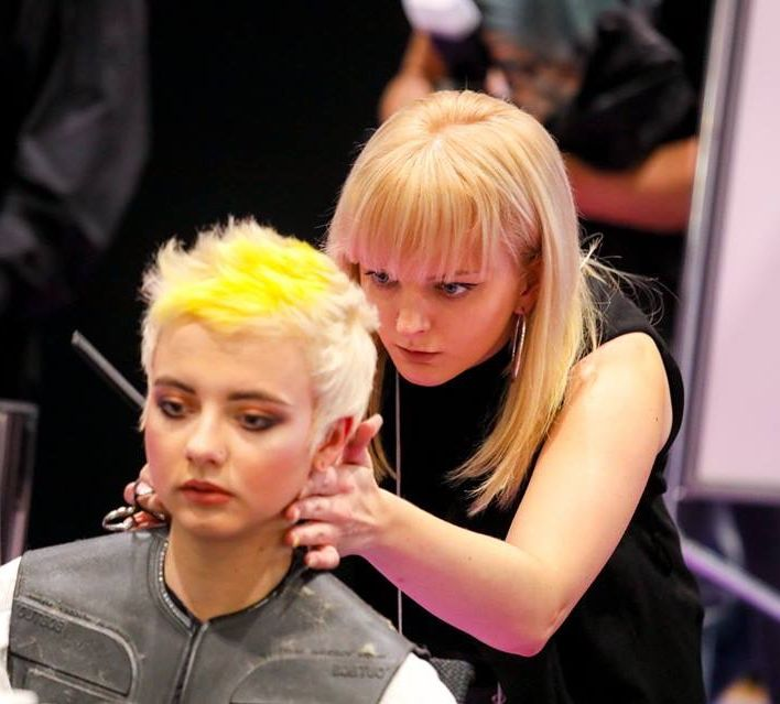 Karoliina Saunders team take Salon International by storm