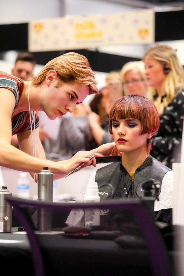 National Hairdressers Federation competition 2018